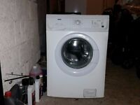 ZANUSSI WASHING MACHINE - 1600 SPIN - 6KG LOAD - WHITE - COULD DELIVER LOCALLY