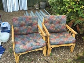 Garden chairs not bad condition just got new