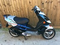 Peugeot Speedfight 2 50cc scooter moped 2009 12 months mot