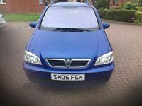 Vauxhall zafira breeze 7 Seats