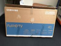 "Samsung 40"" ultra slim Smart full Freeview HD led tv"