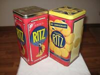 Ritz Cracker Collector's Tins