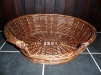 *NEW Wicker Pet Basket/Bed 4 Kitten/Cat/Puppy/Dog/Rabbit