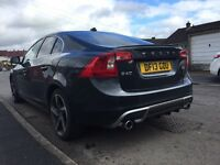 Volvo S60 R Design, 2013, Shiny Grey, Low *30,000* Mileage, Saloon 1.6L, Recent Service, £9,999.