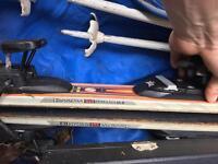 2 sets of full length skii's