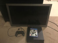 "Sony PS4 500gb + 28"" TV + Game"
