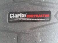 clarke contractor 240v 1500 watts power S D S drive