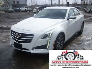 2016 Cadillac CTS CTS4 LUXURY AWD V6 3.6L FULL EQUIPPE MAG SROOF