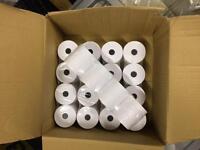 20 x printer (PDQ) till rolls (58mm width)