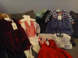 Brand new with tags baby girl clothes