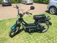 Piaggio Vespa Si 49cc Moped Special Version Powered Mot 1y Uk Plated