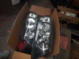 BMW 3 Series E90 E91 Headlights Headlamps Casings Left and Right pair set Original GREAT CONDITION!