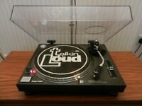 1 x Technics SL-1210 Mk2 Turntable with Dustcover - Just Serviced