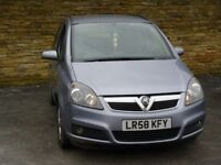 2008 Vauxhall Astra 1.6 i 16v Life 5door petrol silver 7 seater seats low mileage hpi clear