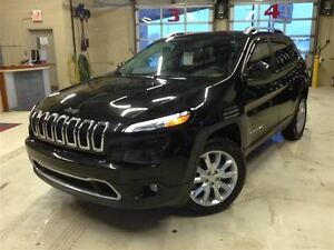 2015 Jeep Cherokee LIMITED.V6.4x4.TOIT PANO.CUIR.NAV.CAMERA.