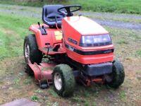 Kubota ride on lawn mower