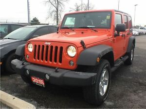 2015 Jeep WRANGLER UNLIMITED SPORT**AUTOMATIC**POWER WINDOWS**NA
