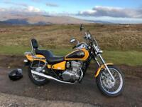 Kawasaki en 500 Vulcan. 1997 1700 genuine miles from new
