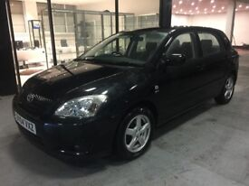 2004 TOYOTA COROLLA 5 DOOR 1.6 VVTI BLACK MANUAL STARTS AND DRIVES PERFECT