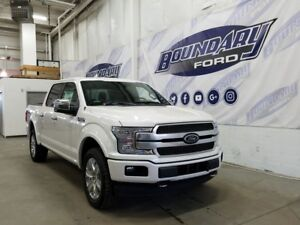 2018 Ford F-150 SuperCrew 700A Platinum 3.5L Ecoboost