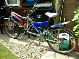 Tandem Bike all working condition