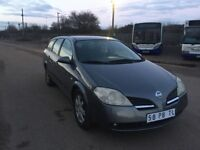 LEFTHAND DRIVE NISSAN PRIMERA,FULL OPTION,DRIVES PERFECTLY,ENGINE & MECHANICS,PAPER SORTED.CALL MARC