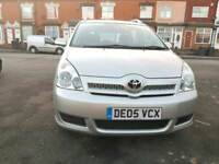toyota corolla verso 2 litre diesel 7 seater