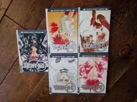 D N Angel (Manga) - Volumes 1-5 books