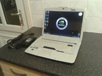 """""""GAMING"""" ACER 5920G/15.4 SCREEN/WIN 7/HDMI/CORE2DUO T8100 2.1GHZ X2/250GB HDD/3GB RAM/WEBCAM"""
