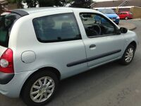 03 RENAULT CLIO 1.2 3door px vw polo Vauxhall Astra corsa Nissan micra Ford Focus ka Toyota pug 206