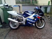 Suzuki GSXR 600 K3 12 month MOT