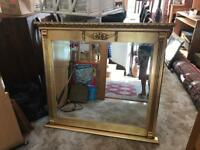 A Stunning Fireplace Mirror