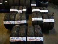 175 65 15 matchin sets contis dunlops pirellis hankooks michelins alll 6mm(LOADS MORE AV 7-DAYS)