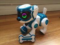 Teksta voice-recognition robot puppy