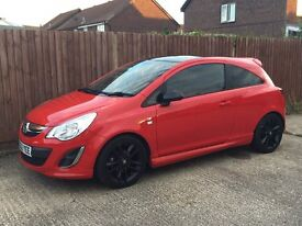 Vauxall Corsa Limited Edition 1.2 £4950