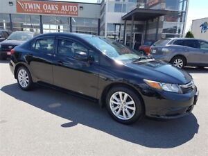 2012 Honda Civic EX - SUNROOF - ALLOY WHEELS - CERTIFIED!