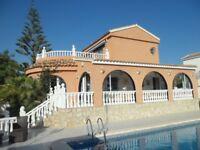 Beautiful Villa, Mazarron, Costa Calida - Sleeps 8 - Last Minute Disc - May 7th until 14th £550