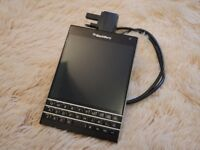 BLACKBERRY PASSPORT CURRENTLY ON EE UPGRADED HENCE SALE