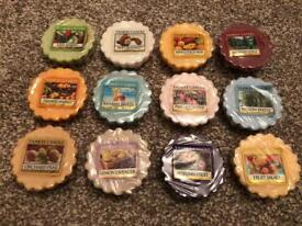 12 x Yankee Candle Wax Melts