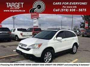 2008 Honda CR-V EX-L Fully Loaded; Leather, Roof, Well Maintaine