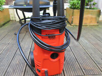 black and decker power washer