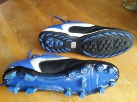 2 pairs of football shoes (1 with studs and 1 with astro soles), size 12.