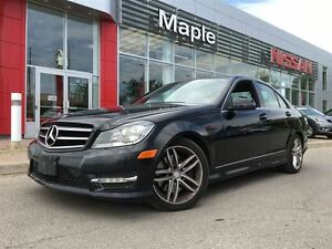 2014 Mercedes-Benz C-Class 4MATIC-Leather Seats, Sunroof, Alloys