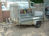 TRAILERS FOR SALE 1/2 TON TRAILER OR A 2 TON TRAILER WITH LOADING RAMPS