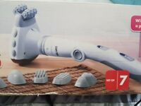 Handheld infrared massager