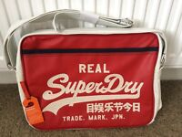 BRAND NEW Superdry Mash Up Alumini Bag (larger size from the norm)