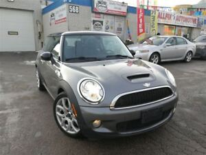 2008 MINI COOPER S Accident Free_Leather_Panoramic Sunroof