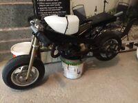 Mini moto 50cc spares or repairs