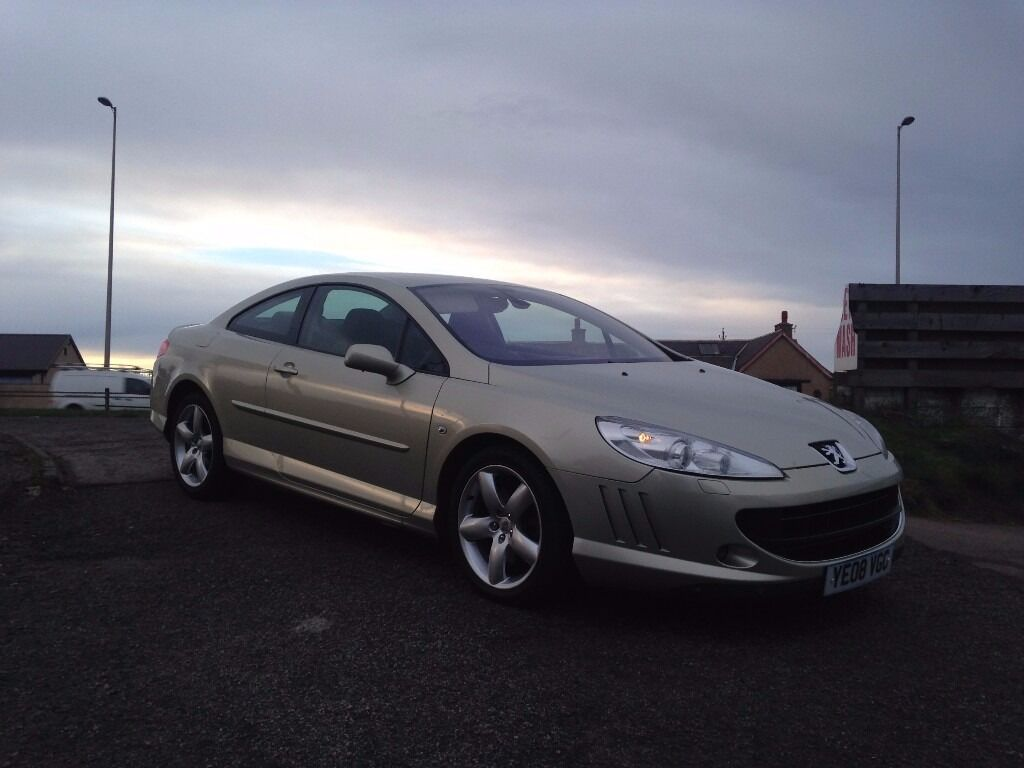 2008 08 peugeot 407 coupe gt 2 7hdi v6 205bhp auto in broughty ferry dundee gumtree. Black Bedroom Furniture Sets. Home Design Ideas