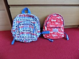 2 Children's small back packs